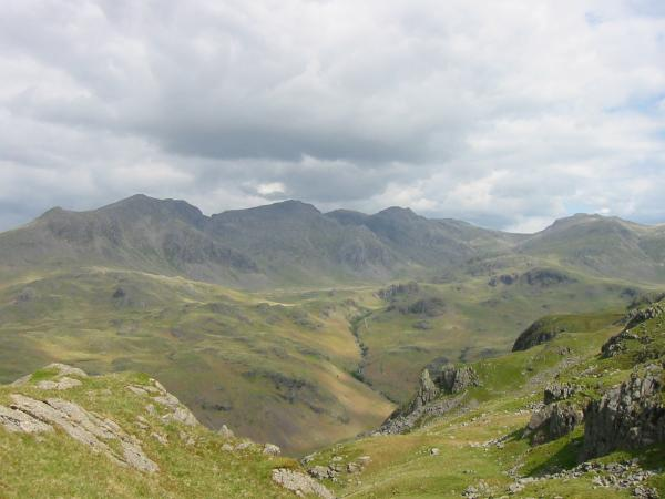 ...and again with Eskdale Needle in the foreground