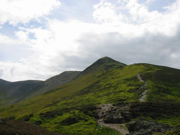 Carl Side, Long Side and Ullock Pike (false summit)