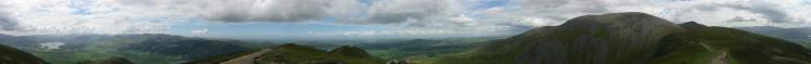 360 Panorama from Long Side's summit