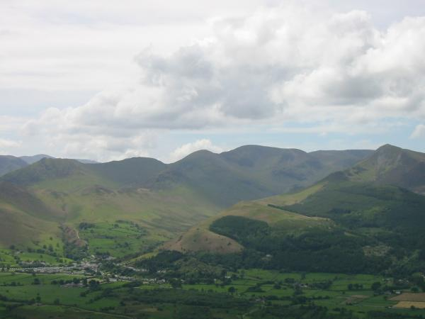 Causey Pike, Scar Crags, Sail, Eel Crag, Grasmoor and Grisedale Pike