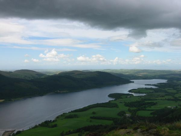 Bassenthwaite Lake from Dodd's summit