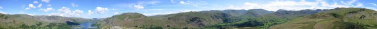 360 Panorama from Arnison Crag's summit