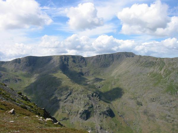 Nethermost Pike and Helvellyn