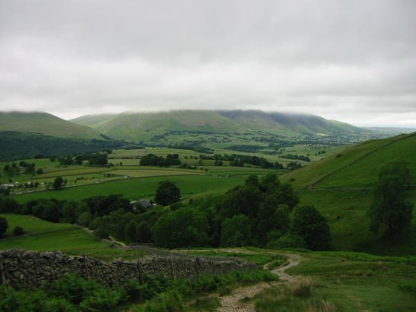 Blencathra (almost) from above Rakefoot