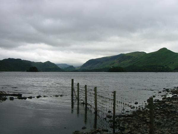 Looking south towards the 'Jaws of Borrowdale'