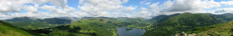 Loughrigg Fell panorama