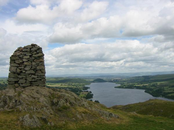 Ullswater from Hallin Fell's summit