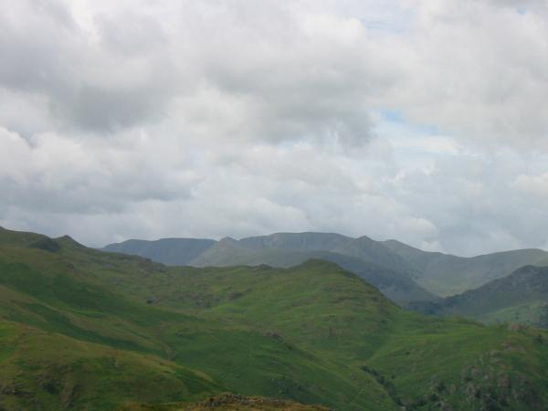 Zooming in on Helvellyn