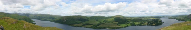 Ullswater panorama