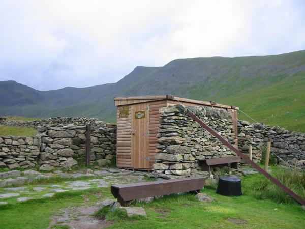 The RSPB (Golden Eagle) hide in Riggindale