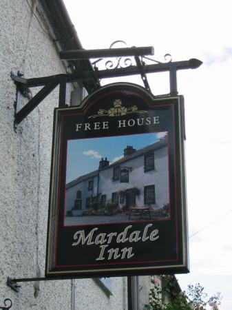 After this short evening walk we stopped at the Mardale Inn (formally St Patricks Well Inn), Bampton  for an excellent meal and pint