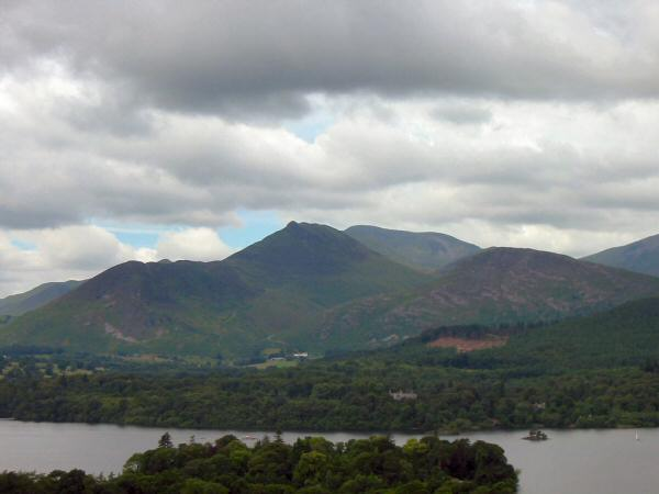 Causey Pike from Castle Head