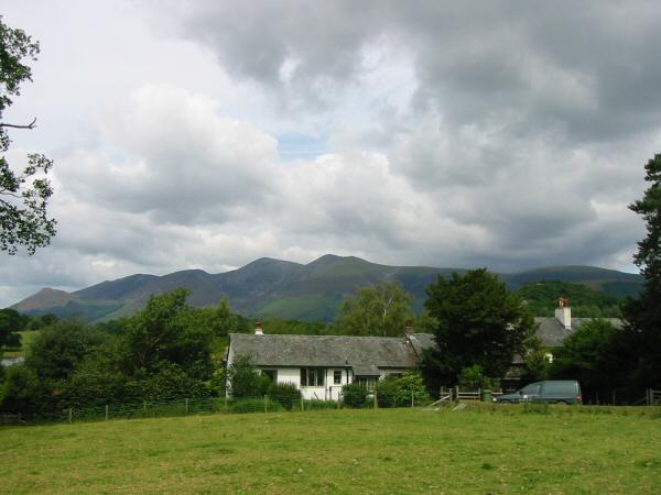 Skiddaw from Stable Hills