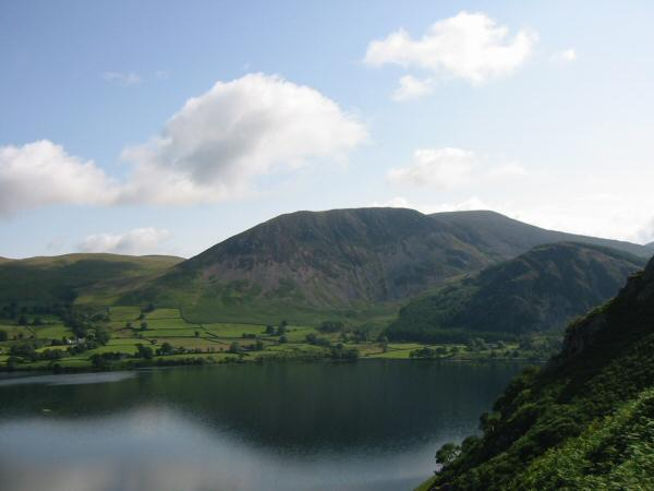 Herdus, Great Borne and Bowness Knott from the ascent of Anglers Crag