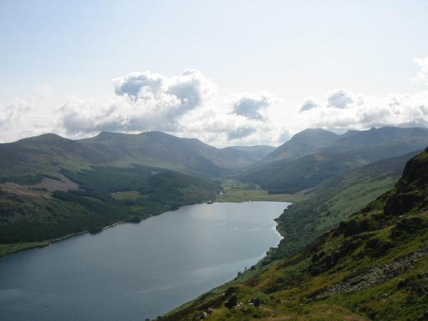 View from Crag Fell