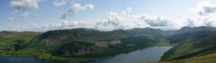 Ennerdale from Crag Fell
