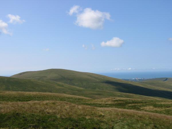 Lank Rigg from Crag Fell
