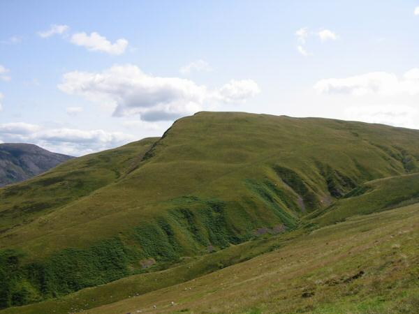 Looking across Ben Gill to Crag Fell