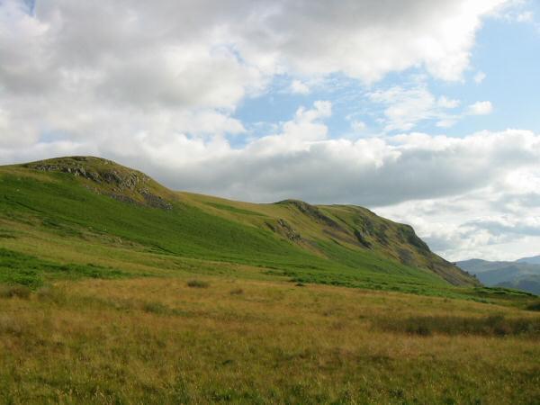Arthur's Pike's north ridge