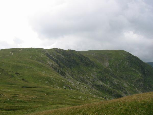 Harter Fell from the route up Branstree
