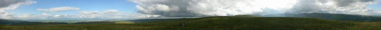360 Panorama from Selside Pike's summit
