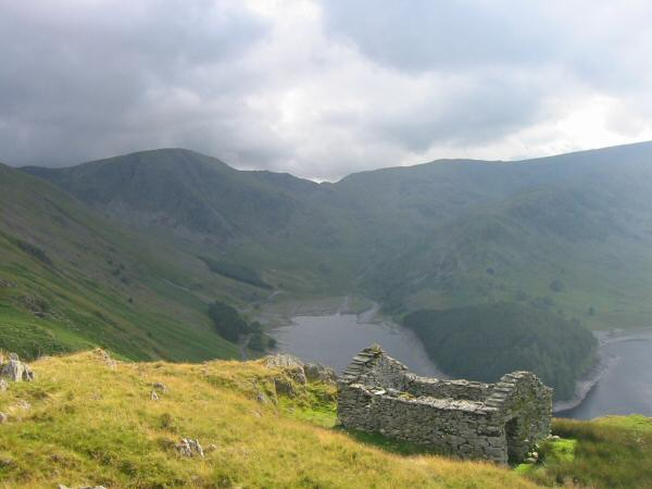 Harter Fell, Mardale Head, Mardale Ill Bell and The Rigg from the Old Corpse Road