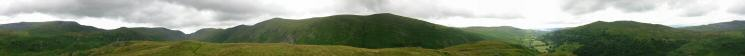 360 Panorama from Troutbeck Tongue's summit