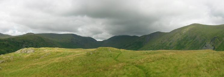 The view north from Troutbeck Tongue