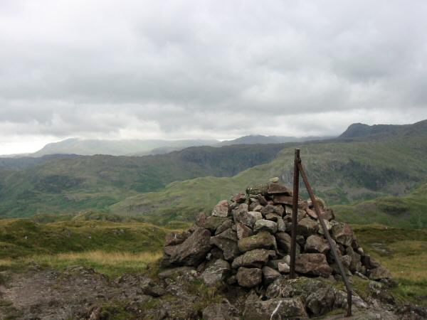 Steel Fell summit cairn