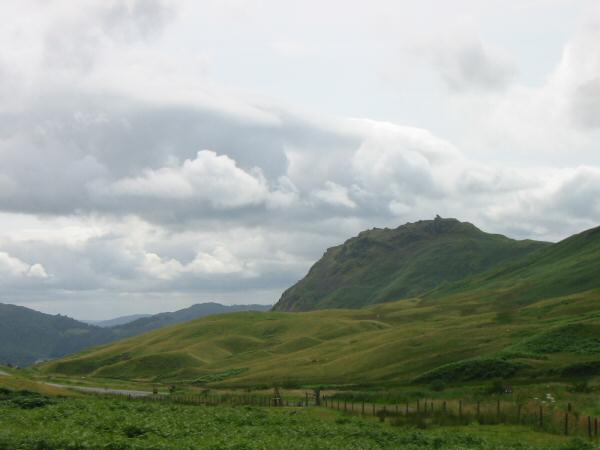 Helm Crag from Dunmail Raise