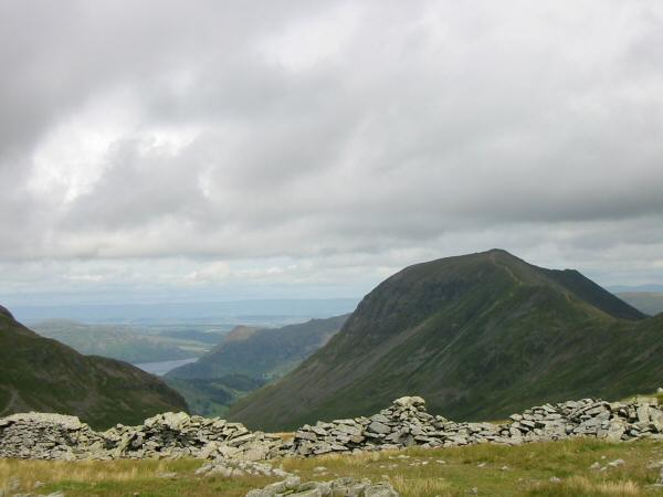 Saint Sunday Crag from Seat Sandal's summit