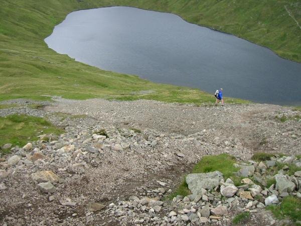 Grisedale Tarn from the ascent