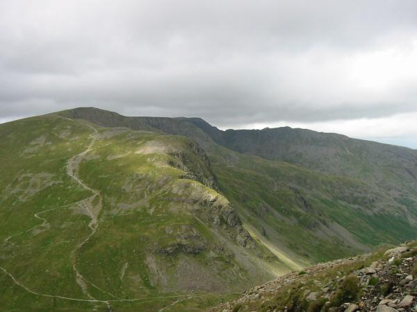 Dollywaggon Pike, Helvellyn and Striding Edge
