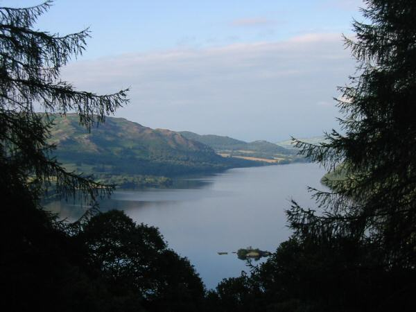 Ullswater from the descent
