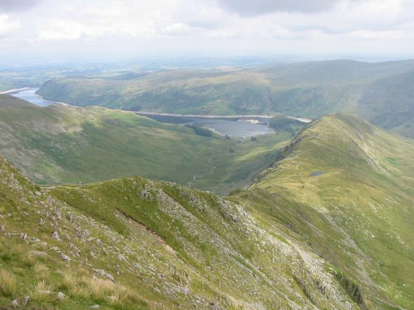 Long Stile, Rough Crag, Riggindale and Haweswater