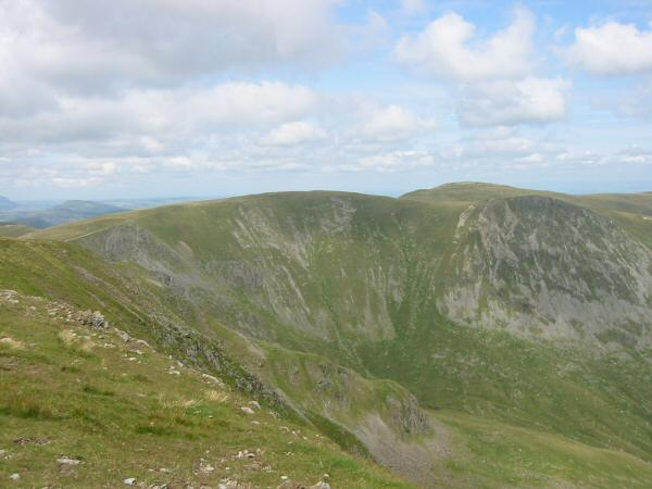 Rampsgill Head, High Raise and Kidsty Pike