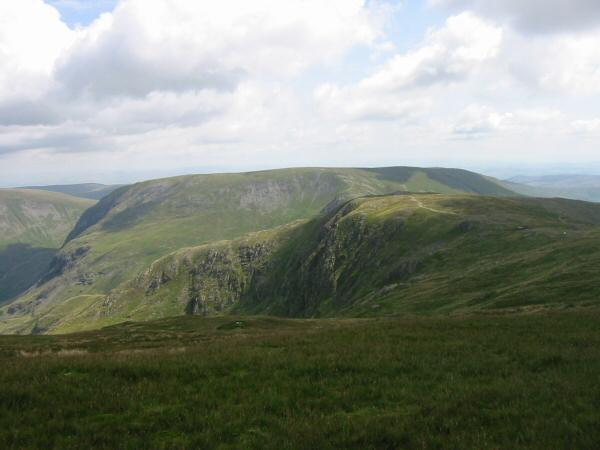 Mardale Ill Bell with Harter Fell behind