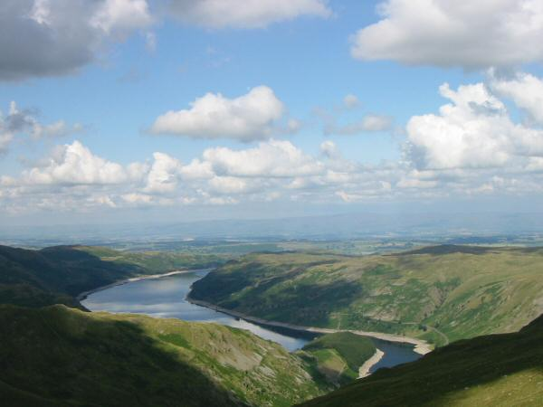 Haweswater from the ascent of Harter Fell