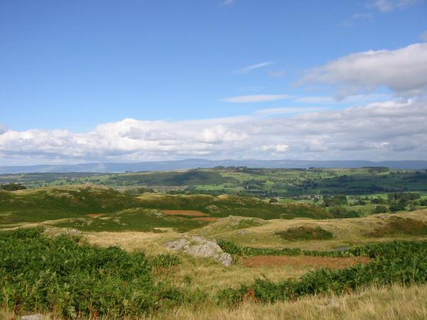 The view east to The Pennines