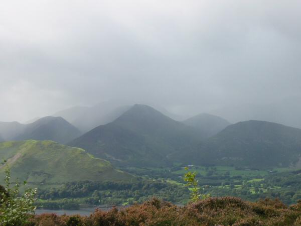 The north western fells get some weather. Yes, it is August but its a bank holiday weekend!