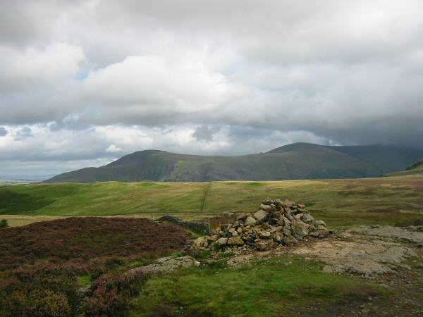 Clough Head and Great Dodd from Walla Crag summit