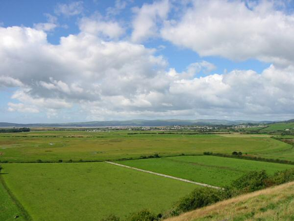 The view west to Ulverston