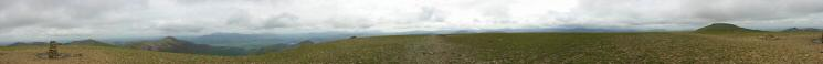 360 Panorama from Eel Crag's summit