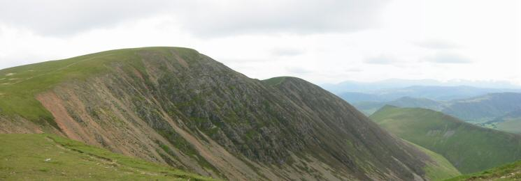 Eel Crag, Sail and Ard Crags from Wandope