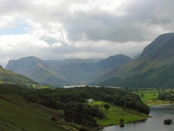Fleetwith Pike and Haystacks