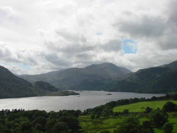 Ullswater and Saint Sunday Crag