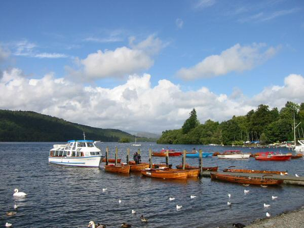 The landing stages, Bowness-on-Windermere