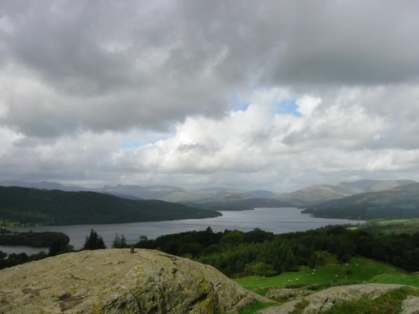 Windermere from Brant Fell's summit