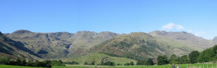 Great Knott, Crinkle Crags, The Band and Bowfell