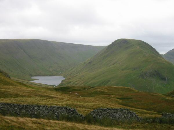 Hayeswater and Gray Crag